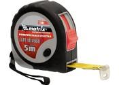 Рулетка  3мх16мм MATRIX Continuous Fixation обрезиненный корпус, плавная фиксация