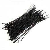 Хомут-стяжка 3,6х200мм пластик черный (100шт/упак) СИБРТЕХ