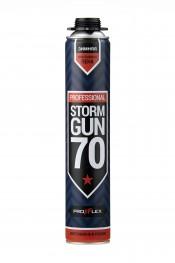 Пена монтажная PROFFLEX PRO Storm Gun 70л (лето) (12шт)