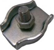 Зажим для троса ЗУБР DIN 741 оцинкованный 8мм ТФ5 (60 шт)